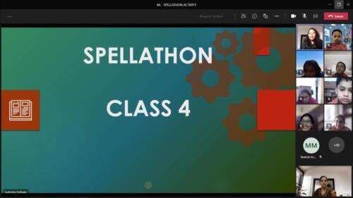 Spellathon Class IV A 2